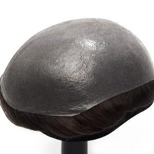 HS25-V Prótesis Capilar en Stock de Skin Súper Delgada 0.03mm en V-looped de New Times Hair