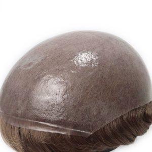 HS1 Prótesis Capilar en Stock de Skin Súper Delgada de 0.08mm New Times Hair