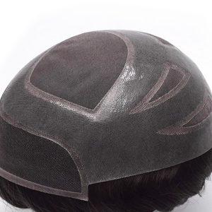 HS27+ Prótesis Capilar de Hombre en Stock de Fine Mono y Skin New Times Hair