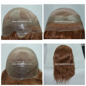 Mod.LJC284 Peluca para mujer. Base de Monofilamento y PU