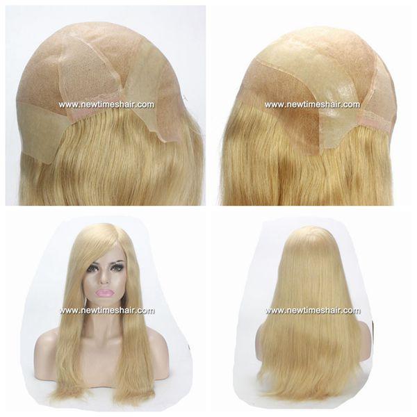 precio al por mayor descuento en venta buscar genuino Mod.NTW3.Peluca Completa de pelo natural para mujer ...