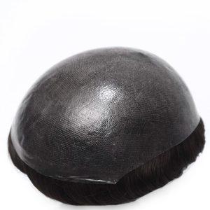 INS Prótesis Capilar para Hombres de Skin, Cabello Inyectado Sobre la Base de Skin New Times Hair