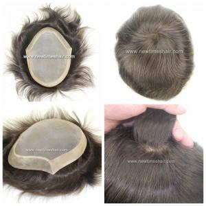 LD5: Sistema de reemplazo de cabello para hombres con base de Monofilamento.