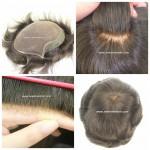 LD3: Peluquín para hombres. Base de tul (French Lace) el material más suave.