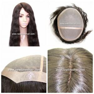 Mod.LW2765 Bonita peluca para mujeres con base fabricada en un fino monofilamento