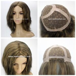 Mod.LW3429 Bonita peluca para mujer fabricada en material de Tul(French Lace)