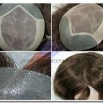 HS3:Peluquín con Base de Monofilamento. Look muy natural, material resistente