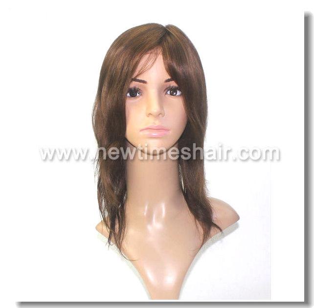 Mod.LW1192. Peluca para mujeres de pelo natural. Base de suave Monofilamento