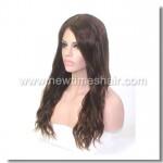 Mod.LW875 Sistema capilar para mujeres. Base Silk Top con cinta elastica en la parte trasera.