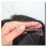 Mod.LW844 Prótesis Capilar para mujer. Fabricada con pelo natural y con el material más resistente