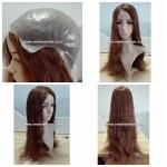 LL431 Peluca mujer. Fabricada Material Skin