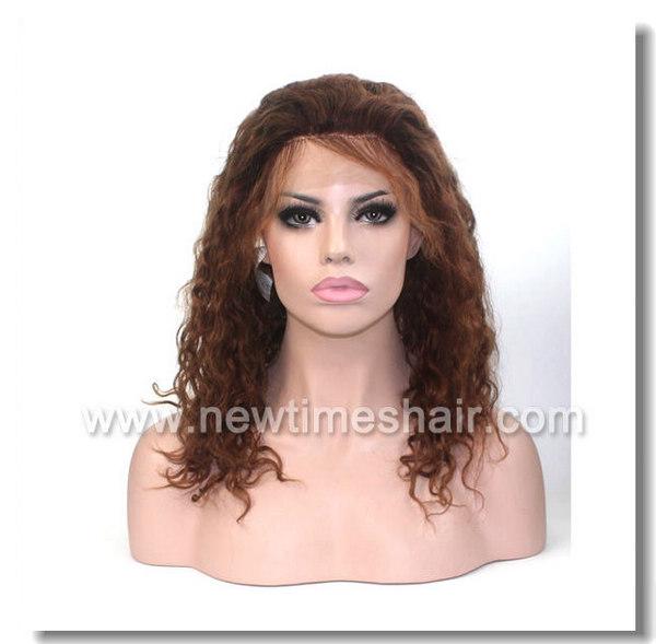 Mod.LX059 Peluca natural para mujer. Tul (french lace) en la parte frontal
