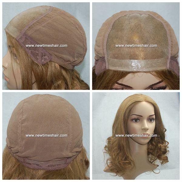 lo mas baratas marcas reconocidas más tarde Mod.LXP006 Peluca para mujeres Monotop de pelo natural ...