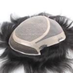 LW4397 Prótesis Capilar para hombre. Silk Top+Fine Mono+Tul Frontal