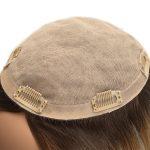 Prótesis Capilar para Mujeres en Stock de Silk Top con Cabello Remy de Alta Calidad de New Times Hair