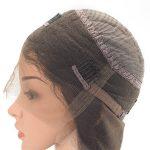 Peluca de Mujer en Stock 360 con Base de Lace y Tramas a Máquina con Cabello Natural y Liso Negro New Times Hair