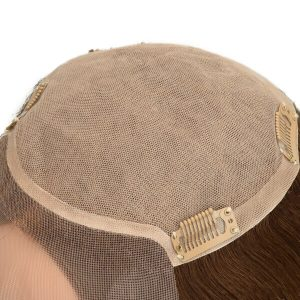 Prótesis Capilar para Mujeres en Stock de Silk Top y Mono con Cabello Virgen de New Times Hair