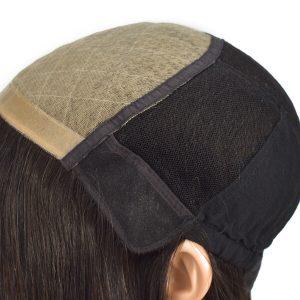 Peluca Médica en Stock para Paciantes con Cáncer de Cabello Liso Natural de New Times Hair