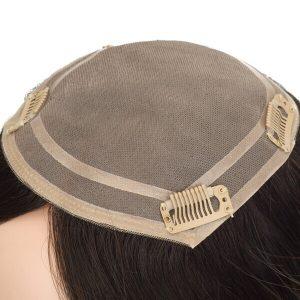 Prótesis Capilar para Mujeres en Stock de Monofilamento con Densidad Meida de Cabello Remy de New Times Hair