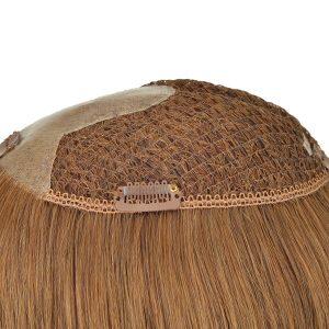 Prótesis Capilar Voluminizadora en Stock con una Linea de PL y Cabello Remy Natural de New Times Hair