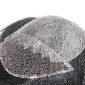 LW1616 Prótesis Capilar para Hombre de Skin Inyectado y Lace en la Parte Frontal de New Times Hair