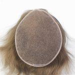 LW1025: Sistema Capilar de Cabello Natural con French Lace para Hombre