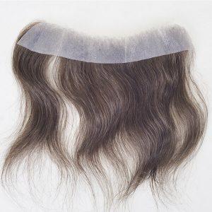 Postizos frontales de tansparente PU delgada para hombre En stock | New Times Hair