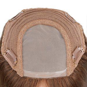 Stock Parcial de cabello humano de Silk Mono con clips  para mujeres   New Times Hair