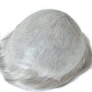 NL22220 Skin ultra fino de 0.03mm, Nudo tipo V-looped, Prótesis capilares para hombre   New Times Hair