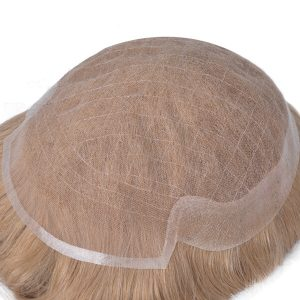 NZ00807 Protésis Capilares Masculinas de Tul Francés con una Gasa de Skin| New Times Hair