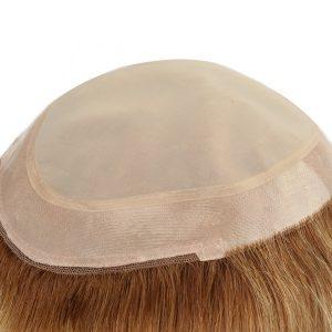 Color Rubio Cbello Largo Prótesis Capilar para Mujeres    New Times Hair