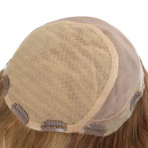 Personalizado Prótesis Capilares Femeninas de Mono y Silk Top de Alta Calidad