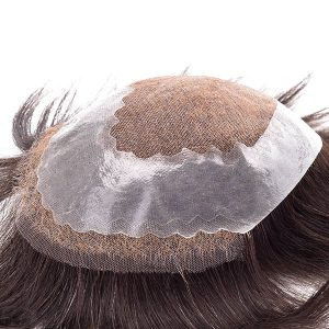 Prótesis Capilar Personalizada de Tul Suizo para Hombres | New Times Hair