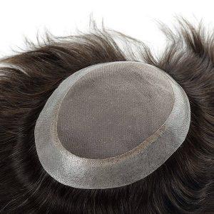 Base de mono fino con el perímetro de PU transparente | New Times Hair
