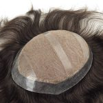 Lace Inyectado con el Skin Inyectado Alrededor Prótesis Capilar Masculina| New Times Hair
