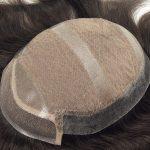 Lace Inyectado con el Skin Inyectado en las Partes Traseras y Laterales Frente de Lace Prótesis Capilar Masculina | New Times Hair