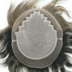 LJC1307 Prótesis capilar masculina de lace inyectado| New Times Hair