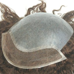 LJC1561: Skin súper Delgado con lace frontal de 1´´ Prótesis capilares con pelo natural y rizos pequeños