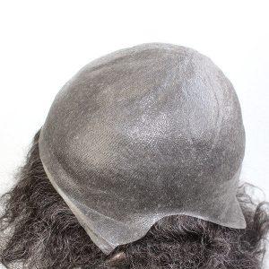 LJC1961: Peluca para Hombres de Skin Súper Fino V-looped