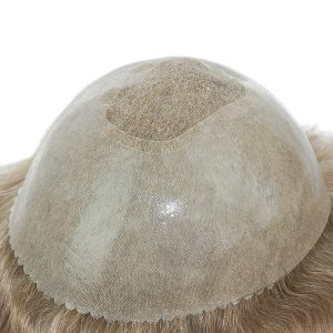 LJC458 Base de Mono Welded Fino con PU Skin Prótesis Capilar para Hombres | New Times Hair