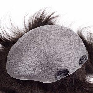 Prótesis Capilar Masculina de Skin Super Fino con Clips At New Times Hair