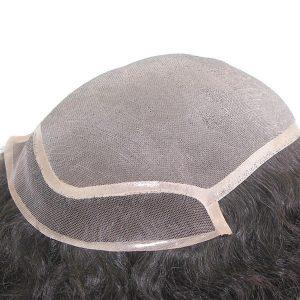 LW1525 Prótesis capilar de cabello natural