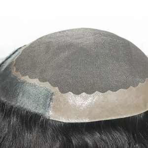 LW226 Prótesis capilar de cabello natural de la mejor calidad