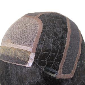 LW2938 Peluca Femenina para Mujeres con el Silk Top y Nudos Blanqueados