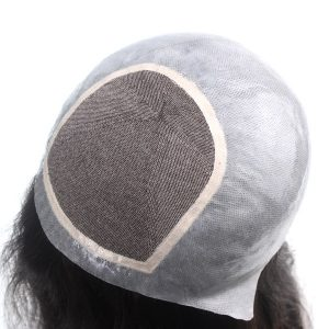 LW4254 Silk Top con la Silicona Antideslizante Prótesis Capilar para Mujer