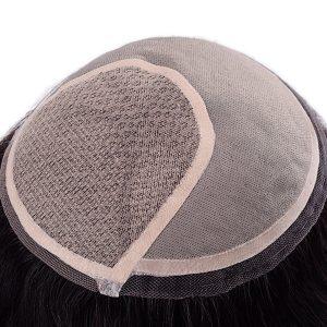 LW4660 Base de Silk Top con Mono y Lace Doble en los Bordes Prótesis Capilar Femenina | New Times Hair