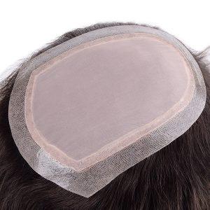 LW4831: Prótesis Capilar de Silk Top y Lace Inyectado   New Times Hair