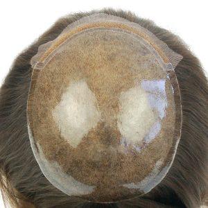 LW863: Cabello natural Silicona Inyectada Prótesis Capilar Femenina   New Times Hair