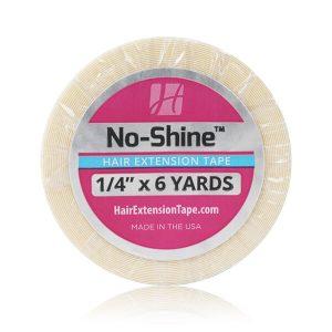 Rollos de cinta para extensiones de cabello No-Shine 1/4″ x 6 Yardas