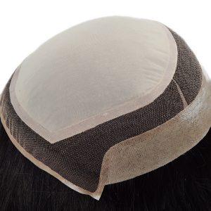 Color Ombre Peluca de Silk Top para Mujeres